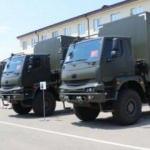 Türkiye'den Gürcistan ordusuna araç desteği