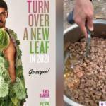 Vegan dergisinde gençlere 'Et yemeyin' diyen FETÖ'cü Enes Kanter, kavurma pişirdi