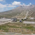 Erciyes'te 2 bin 200 rakımda kamp keyfi