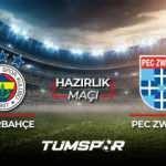 Fenerbahçe Zwolle maçı ne zaman saat kaçta hangi kanalda? FB Zwolle maçı muhtemel 11'leri!