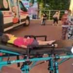Gölcük'te balkondan düşen çocuğu marketin tentesi kurtardı