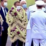 Macron'un Fransız Polinezyası'ndaki zor anları
