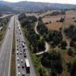 TEM'in Bolu geçişinde 'çalışma' trafiği