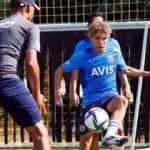 Fenerbahçe'nin yeni transferi ilk antrenmanına çıktı