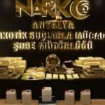 Antalya'da 3,3 milyon kullanımlık uyuşturucu ele geçirildi