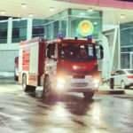 Azerbaycan yangın söndürme ekipleri, Türkiye'ye giriş yaptı