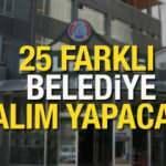 25 farklı belediye KPSS şartlı ve şartsız memur alımı yapacak! Başvuru tarihleri açıklandı...