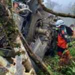 California'da helikopter düştü: 4 ölü