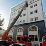 Esenler Kaymakamlığı binasında yangın