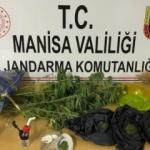 Sarıgöl'de jandarmadan uyuşturucu operasyonu