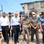 Ulaştırma ve Altyapı Bakanlığı, tüm imkanlarını yangın bölgelerine seferber etti