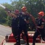 Yangın bölgelerindeki AKUT 251 cana destek oldu