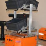 Yerli firma akıllı süpürge teknolojisiyle yük taşıma robotu yaptı