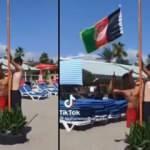 Alanya plajında Afganistan bayrağı dikilmesine ilişkin Antalya Valiliğinden açıklama
