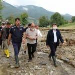 Bakan Kurum, selin en çok etkilediği Zafer köyünde