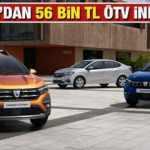 Dacia'dan 56 bin TL ÖTV indirim! 2021 ÖTV indirimli Sandero Lodgy Duster Dokker yeni fiyat listesi