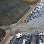 Erzincan-Sivas yolu heyelan nedeniyle trafiğe kapandı