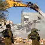 İsrail askeri Batı Şeria'da Filistinlilere ait 4 evi yıktı