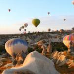 Kapadokya'da balon turuna yoğun ilgi