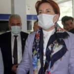 Meral Akşener'in Erzincan gezisinde de ortam gerildi