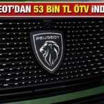 Peugeot'dan 63 bin TL ÖTV indirimi: 2021 Model 308, 208, 2008, 3008, Rifter yeni fiyat listesi