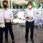 Silivri'de bir çift düğünlerinde davetlilere nikah şekeri yerine dünya klasiği verdi