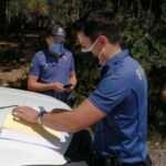 Yasağa rağmen ormana giren 2 kişiye 427 lira ceza