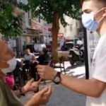 Yaşlı vatandaştan genç muhabire müthiş Erdoğan cevabı! Hiç bir şey diyemedi