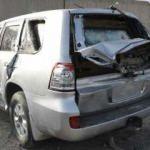 Kabil'deki izdihamda lüks araçlar hurdaya döndü
