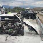 Amasya'da 2 otomobil kafa kafaya çarpıştı: 2 ölü 5 yaralı