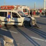Aksaray'da hafif ticari araç ile otomobil çarpıştı: 5 yaralı