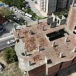Ataşehir'de 35 yıldır inşaatı bitmeyen hayalet binalar!