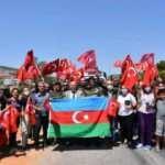 Azerbaycanlı alev savaşçıları uğurlandı!