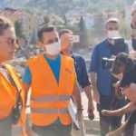 Bakan Soylu, kuyudan kurtarılan köpeğe 'Bozkurt' ismini verdi
