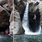 Dev kanyonda 12 şelale keşfedildi