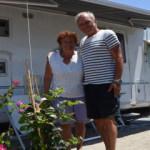 Fransız çift, 38 yıldır Türkiye'de tatil yapıyor
