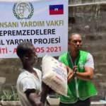 İHH ekipleri Haiti'de