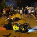 Osmaniye'de karşı şeride geçen otomobil motosikletlileri biçti: 3 yaralı