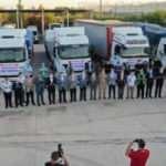 Şanlıurfa'dan Kastamonu'ya 9 tır ve 1 kamyon yardım