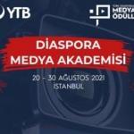 YTB Diaspora Medya Akademisi başlıyor!