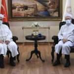 Ali Erbaş, KKTC Din İşleri Başkanı Ünsal'ı kabul etti