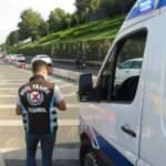 Çakarlı araç denetiminde iki ambulans şoförüne ceza