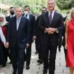 Cumhurbaşkanı Erdoğan'a, Karadağ'da sevgi gösterisi