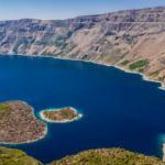 Dünyada ikinci! Nemrut Krater Gölü görenleri kendine hayran bırakıyor
