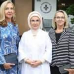 Emine Erdoğan Aliya İzzetbegoviç Vakfı'nı ziyaret etti