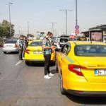 Eminönü'nde denetim; kurallara uymayan taksicilere ceza kesildi