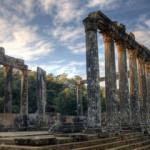 Ünlü Zeus Tapınağı'nın bulunduğu Euromos Antik Kenti