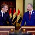 Fransa Cumhurbaşkanı Macron, Irak'a geldi