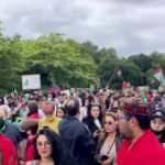 İngiltere'de Afganistan halkıyla dayanışma gösterisi düzenlendi
