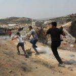 İsrail askerleri Batı Şeria'da yine zor kullandı: 15 Filistinli yaralı